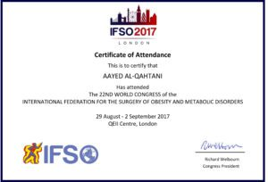 IFSO 2017, the 22nd WORLD CONGRESS