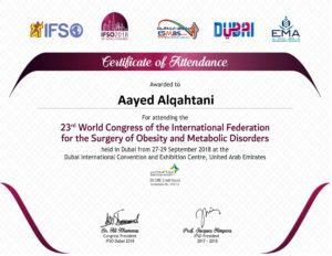 IFSO2018_Conference Certificate_DHA